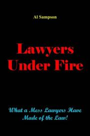 Cover of: Lawyers Under Fire