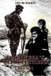 Cover of: FROM VERA'S RECOLLECTIONS