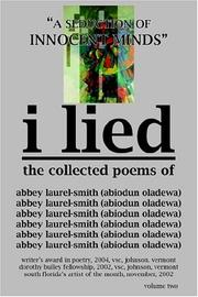 Cover of: I lied