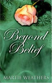Cover of: Beyond Belief