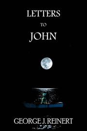 Cover of: LETTERS TO JOHN