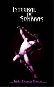 Cover of: Integral de Sombras