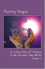 Cover of: Poetry Pages