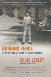 Cover of: Burning Fence