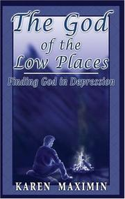 Cover of: The God of the Low Places