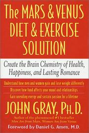 Cover of: The Mars and Venus Diet and Exercise Solution