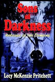 Cover of: Sons of Darkness | Lecy McKenzie Pritchett