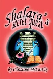 Cover of: Shalara's Secret Quest