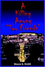 "Cover of: A Killing Among ""Two Friends"""