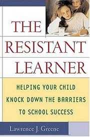 Cover of: The resistant learner