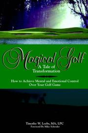 Cover of: MAGICAL GOLF A TALE OF TRANSFORMATION