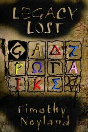 Cover of: LEGACY LOST