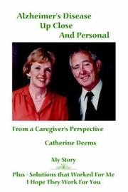 Cover of: Alzheimer's Disease Up Close And Personal