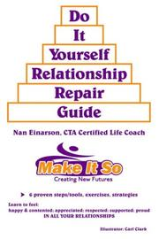 "Cover of: ""DO IT YOURSELF RELATIONSHIP REPAIR GUIDE"""