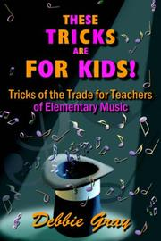 Cover of: THESE TRICKS ARE FOR KIDS