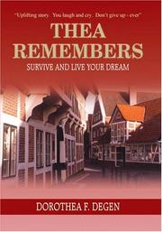 Cover of: THEA REMEMBERS