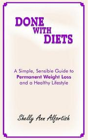 Cover of: Done With Diets