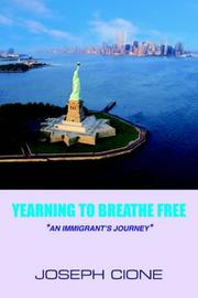 "Cover of: ""YEARNING TO BREATHE FREE"""