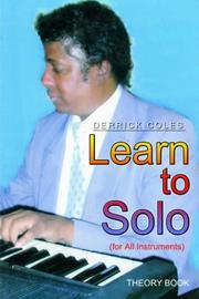 Cover of: Learn to Solo