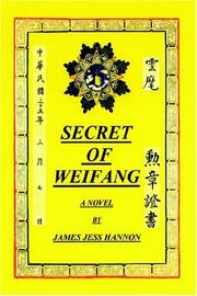 Cover of: SECRET OF WEIFANG