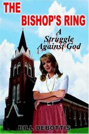 Cover of: THE BISHOP'S RING