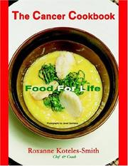 Cover of: THE CANCER COOKBOOK