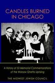 Cover of: Candles Burned in Chicago