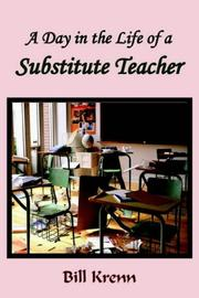 Cover of: A Day in the Life of a Substitute Teacher
