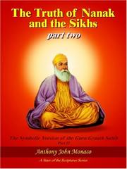 Cover of: The Truth of Nanak and the Sikhs part two