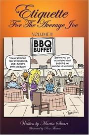 Cover of: Etiquette for the Average Joe, Vol. 2