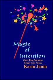 Cover of: Magic of Intention