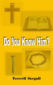 Cover of: Do You Know Him?
