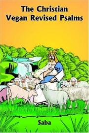 Cover of: The Christian Vegan Revised Psalms