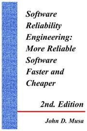 Cover of: Software Reliability Engineering