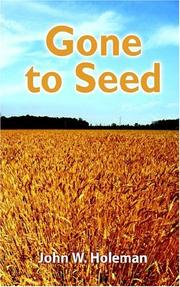 Cover of: Gone to Seed