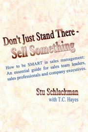 Cover of: Don't Just Stand There - Sell Something