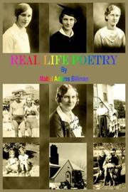 Cover of: Real Life Poetry
