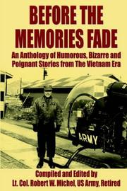 Cover of: Before The Memories Fade