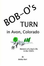 Cover of: Bob-O's Turn in Avon, Colorado