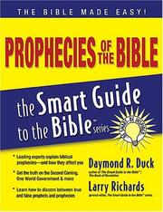 Cover of: Prophecies of the Bible