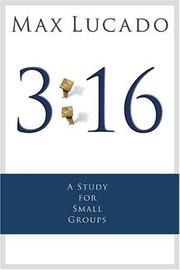 Cover of: 3:16: The Numbers of Hope