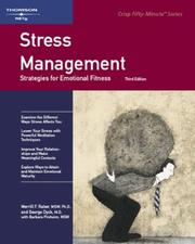 Cover of: Crisp: Stress Management, Third Edition | Merrill Raber