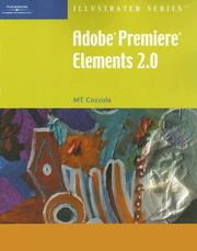 Cover of: Adobe Premiere Elements 2.0  Illustrated (Illustrated Series) | Mary-Terese Cozzola