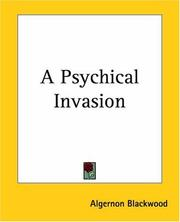 Cover of: A Psychical Invasion
