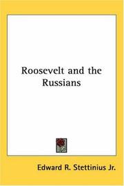 Cover of: Roosevelt and the Russians