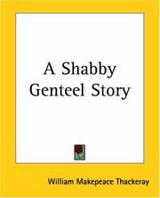 Cover of: A shabby genteel story