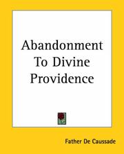 Cover of: Abandonment To Divine Providence