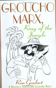 Cover of: Groucho Marx, King of the Jungle