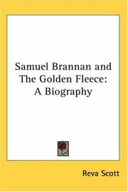 Cover of: Samuel Brannan and The Golden Fleece