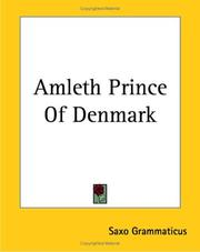 Cover of: Amleth Prince Of Denmark